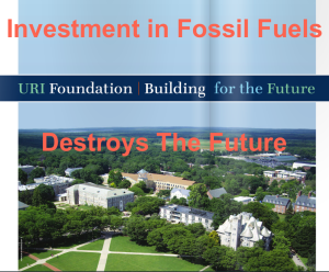 URI Foundation's Investment in Fossil Fuels destroy the future