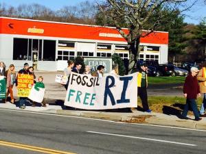 Fossil Free RI Banner